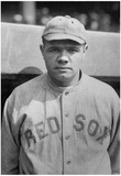 Babe Ruth Boston Red Sox Archival Sports Photo Poster Print Prints