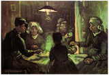 Vincent Van Gogh The Potato Eaters Art Print Poster Prints