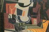 Juan Gris Still Life with Fruit Bowl Art Print Poster Masterprint