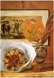 Pierre Auguste Renoir Bouquet Art Print Poster Posters