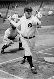 Babe Ruth Batting Archival Photo Sports Poster Posters