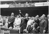 John F Kennedy First Pitch Archival Photo Poster Print Poster