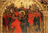 Theophanis Strelitzas Betrayal of Christ Art Print Poster Masterprint