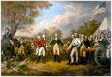 John Trumbull Surrender of General Burgoyne Art Print Poster Posters