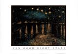 Vincent Van Gogh Night Stars Art Print POSTER gough Posters