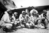 Tuskegee Airmen 332nd Fighter Group Archival Photo Poster Masterprint