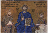 MOSAIC IN HAGIA SOPHIA Jesus Christ ART PRINT Emperor Poster Prints