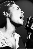 Billie Holiday Black and White Music Poster Print Masterprint