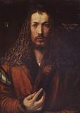 Albrecht Durer (Self Portrait) Art Poster Print Masterprint
