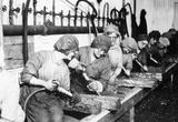 Women War Workers (Ordnance Shops) Art Poster Print Masterprint