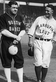 Babe Ruth and Lou Gehrig New York Yankees Archival Photo Sports Poster Print Masterprint