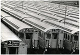 New York City Subway Cars 7 Train Archival Photo Poster Print Prints