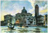 John Singer Sargent Palazzo Labia Venice Art Print Poster Posters