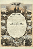 Abraham Lincoln Emancipation Proclamation Historical Poster Photo