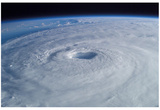 Hurricane Isabel (From Space) Art Poster Print Reprodukcje