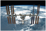 International Space Station Planet Earth 2 2011 Photo Poster Posters