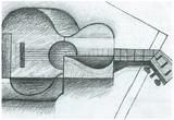 Juan Gris The Guitar Art Print Poster Print