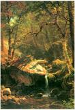Albert Bierstadt The Mountain Art Print Poster Posters