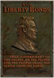Buy Liberty Bonds Abraham Lincoln WWII War Propaganda Art Print Poster Posters