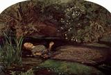 Sir John Everett Millais (Ophelia) Art Poster Print Masterprint