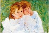 Mary Cassatt The Sisters Art Print Poster Posters