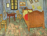 Vincent Van Gogh (Van Gogh&#39;s Bedroom) Art Poster Print Masterprint
