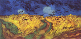 Vincent Van Gogh (Crows over wheat field) Art Poster Print Masterprint