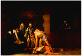 Michelangelo Caravaggio (The beheading of John the Baptist, for the Oratory of San Giovanni Cathedr Prints