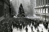 New York City Wall Street 1936 Archival Photo Poster Print Masterprint