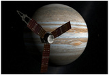 Juno Space Satellite Photograph Poster Photo
