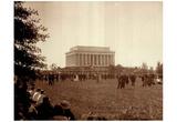 Lincoln Memorial Washington DC 1925 photo Poster Print