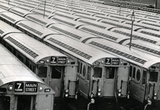 New York City Subway Cars 7 Train Archival Photo Poster Print Masterprint