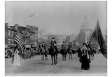 Suffrage Parade (Washington D.C., 1913) Art Poster Print Poster