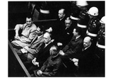 Nuremburg Trials (Defendants Seated) Art Poster Print Print