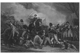 John Trumbull (Battle of Princeton) Art Poster Print Prints