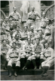 Vintage New York Baseball Team Archival Photo Sports Poster Posters