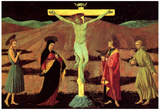 Paolo Uccello Christ at the Cross Art Print Poster Plakater
