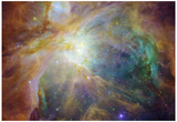 Spitzer and Hubble Create Colorful Masterpiece Space Photo Art Poster Print Prints