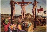 Signorelli Crucifixion Art Print Poster Prints