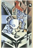 Juan Gris Still Life with Flowers Art Print Poster Print