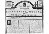 Stamp Act Protest (Pennsylvania Journal) Art Poster Print Posters