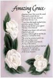 Amazing Grace (Lyrics) Art Print Poster Kunstdruck