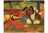Paul Gauguin (Arearea) Art Poster Print Poster
