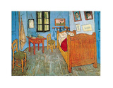 Vincent Van Gogh (Bedroom in Arles) Art Print Poster Masterprint