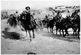 Pancho Villa On Horseback Archival Photo Poster Print Posters