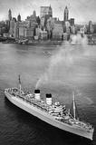 New York City Harbor Ship Archival Photo Poster Print Masterprint