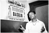Sugar Ray Robinson vs Basilio 1957 Archival Photo Sports Poster Photo