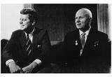 President John F Kennedy (With Nikita Khruschev) Art Poster Print Posters