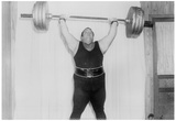 Weightlifter Archival Photo Poster Prints