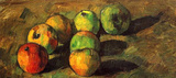 Paul Cezanne (Still Life with seven apples) Art Poster Print Masterprint